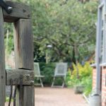 Sweet Chestnut gates by Ed brooks