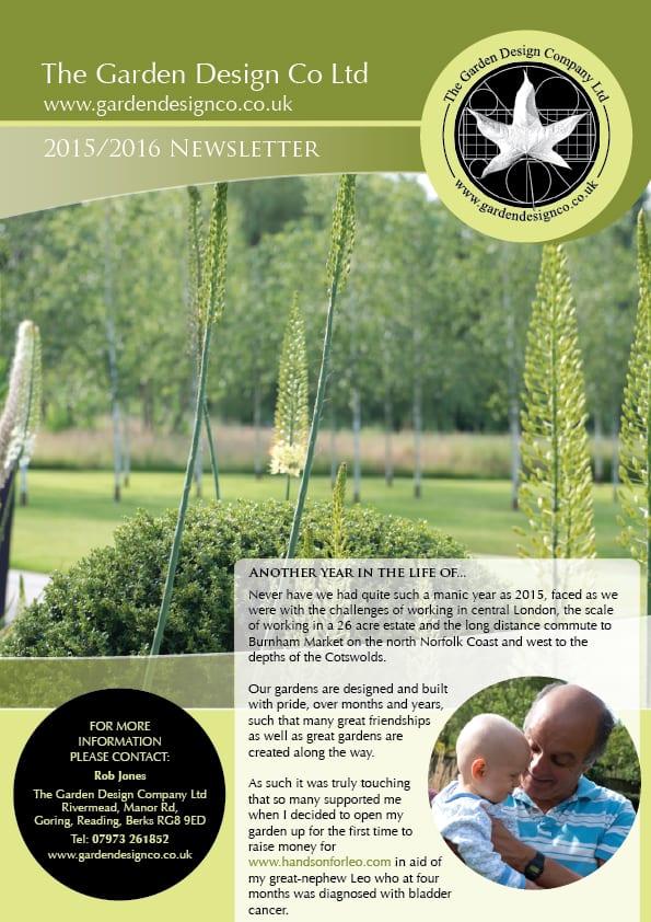 Newsletter 2015/16