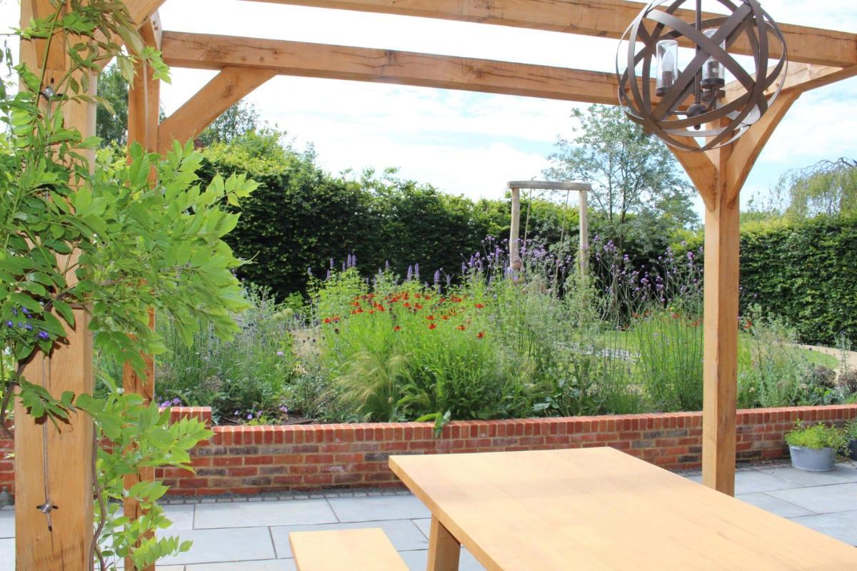 garden design flower borders