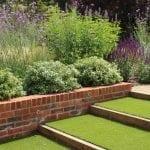 garden design faux grass