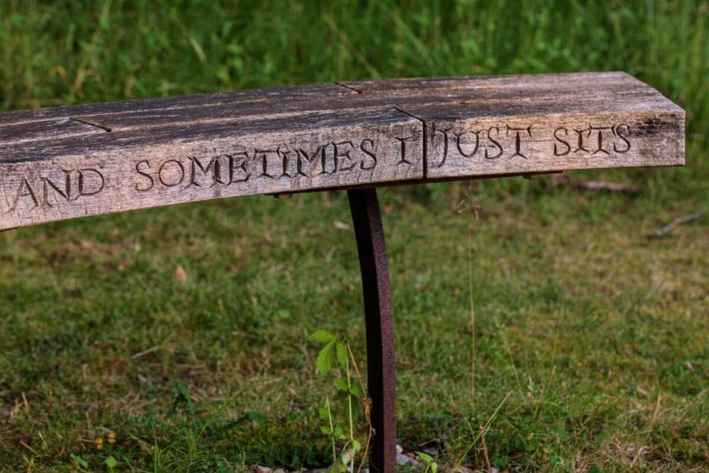 garden design bench