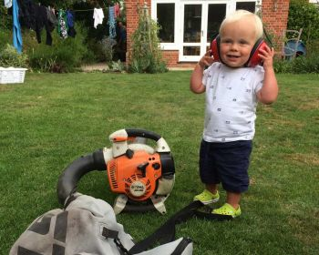 Leo playing gardeners