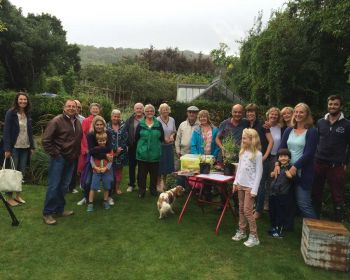 The raffle draw at the NGS Open Day